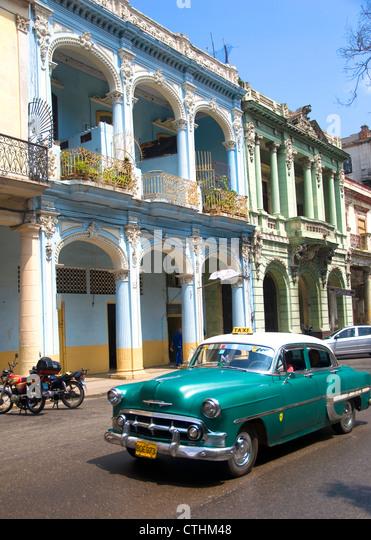 Oldtimer, La Havanna, Kuba Stockbild