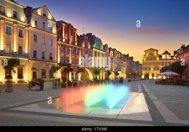 Boleslawiec, untere Schlesischen Woiwodschaft im südwestlichen Polen, Polen, Europa Stockbild