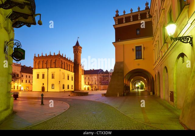 Tarnow, die alte Stadt, Polen, Europa Stockbild