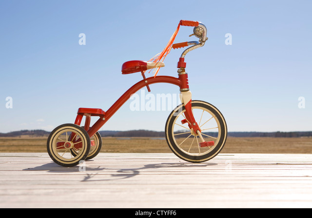 Dreirad Stockbild