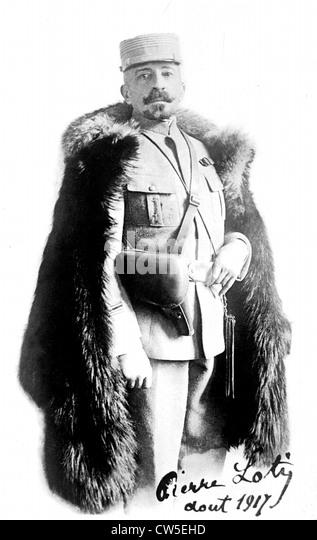 Portrait von Pierre Loti (1850-1923) - Stock-Bilder