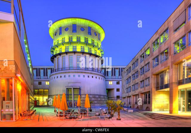 Staatliche Hochschule Fuer Musik Und Bildende Kunst, Stuttgart, Deutschland, Baden-Württemberg Stockbild