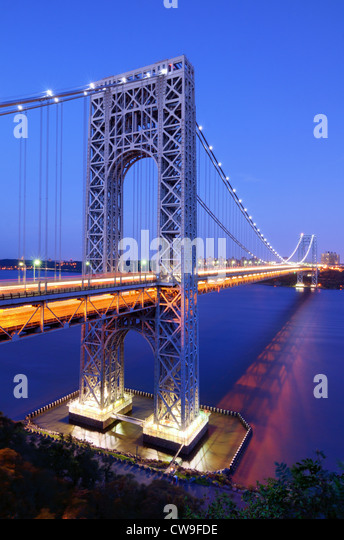 George-Washington-Brücke. Stockbild
