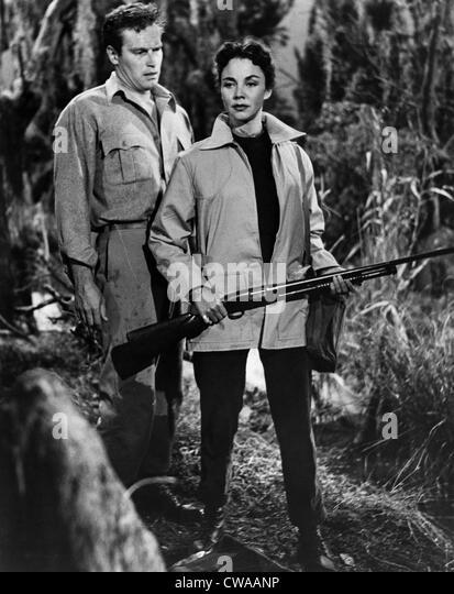 RUBY GENTRY, Charlton Heston, Jennifer Jones, 1952... Höflichkeit: CSU Archive / Everett Collection Stockbild