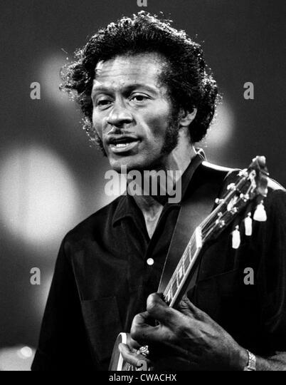 Chuck Berry, 1973. Höflichkeit: CSU Archive/Everett Collection Stockbild