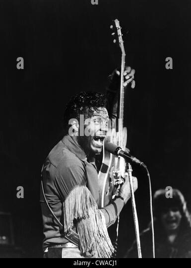 Chuck Berry, 1972. Höflichkeit: CSU Archive/Everett Collection Stockbild
