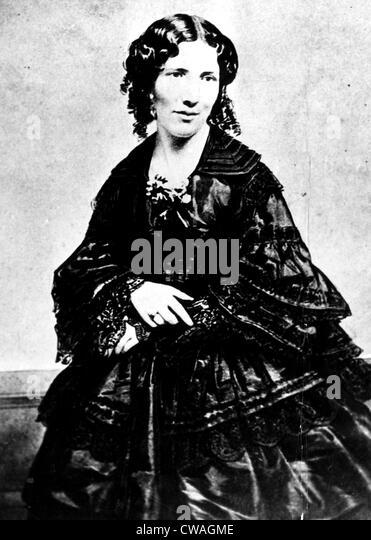 Harriet Beecher Stowe, Ca.1800 Courtesty: CSU Archive/Everett Collection Stockbild