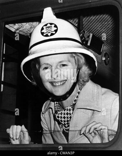 Margaret Thatcher, zukünftige Premierminister des Vereinigten Königreichs, ca. 1976. Höflichkeit: Stockbild