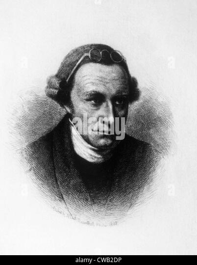 Patrick Henry (1736 ? 1799), Kupferstich 1889 Stockbild