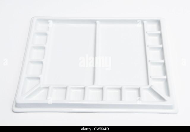 Aquarell-palette Stockbild