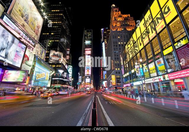 Stadtleben, New York City, das Rockefeller center Stockbild
