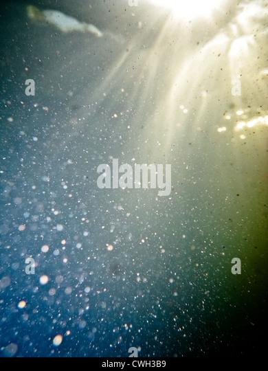 Unterwasser, bubbles, Unterwasserwelt, abstrakte Stockbild