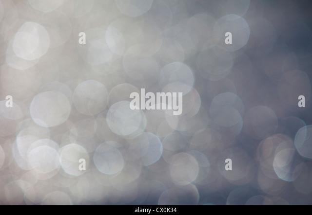 Blurry Lichtpunkte, Bokeh Stockbild