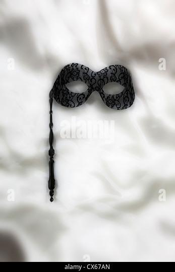 eine venezianische Maske Stockbild