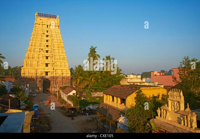 Devarajaswami Tempel, Kanchipuram, Tamil Nadu, Indien, Asien Stockbild