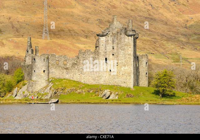 Kilchurn Castle, Loch Awe, Argyll und Bute, Schottisches Hochland, Schottland Stockbild