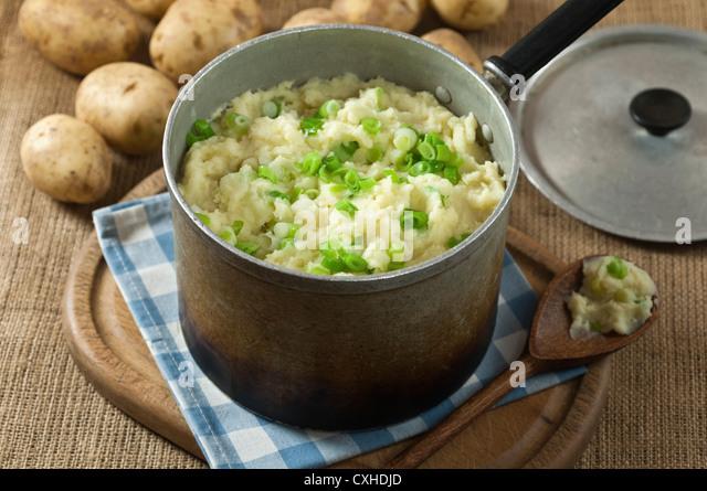 Champ Kartoffeln irischen Kartoffelgericht - Stock-Bilder