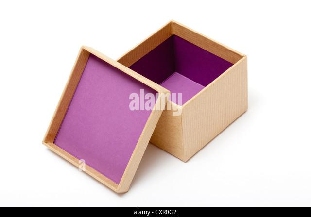 Offenen Geschenkbox Stockbild