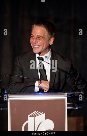 Schauspieler, Lehrer und Autor Tony Danza spricht, während die Texas Book Festival in Austin, Texas Stockbild