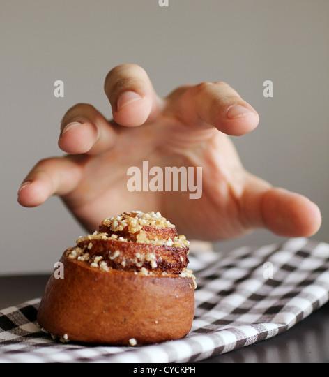 Kuchen, Pasta, Versuchung, Käse-Tarte Stockbild
