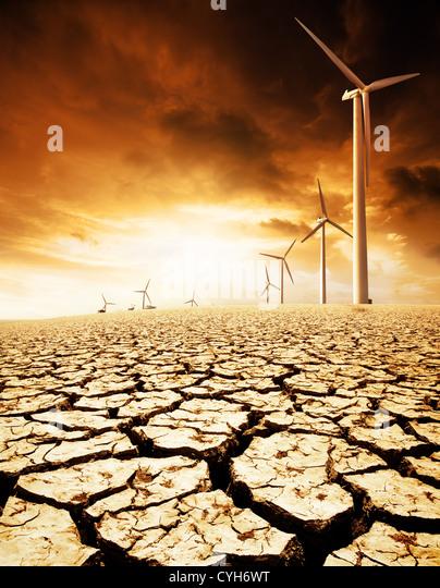 Umweltkonzept Bild Stockbild