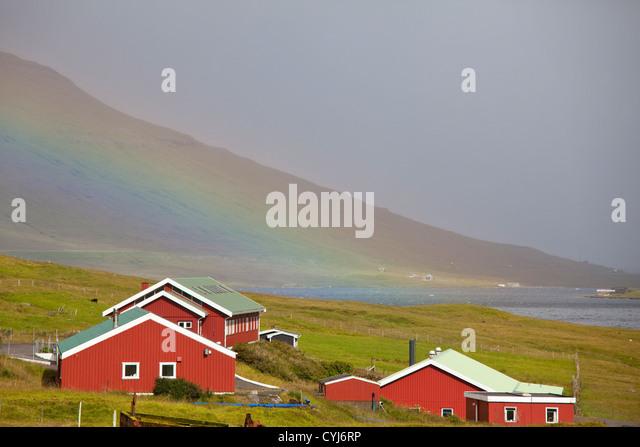 Färöer Inseln Stockbild