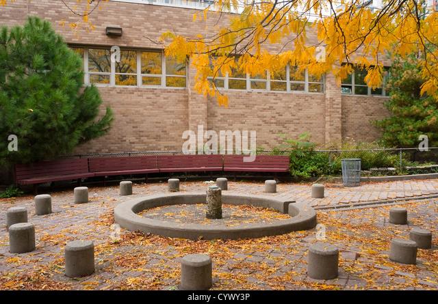 Coles Sport- und Freizeitzentrum an der New York University Stockbild
