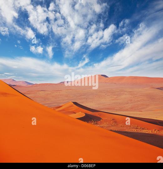 Namib-Wüste Stockbild