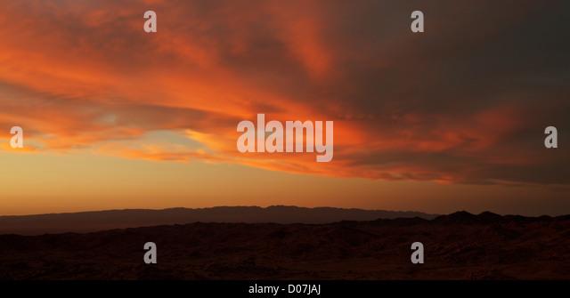 Wüste Gobi Stockbild