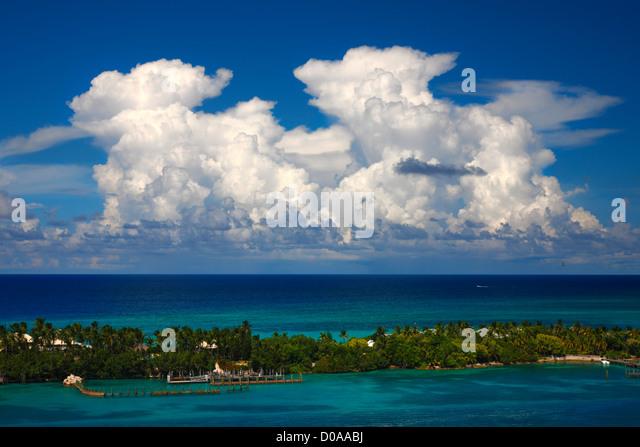 Strand auf Nassau Bahamas Stockbild