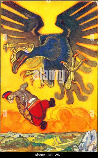 Die Schildkröte und der Adler von Aesop Fabeln auf dem neuesten Stand des Künstlers F Sancha Stockbild