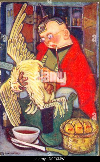 Die Henne, die die goldenen von Aesop Fabeln auf dem neuesten Stand des Künstlers F Sancha Eiablage Stockbild
