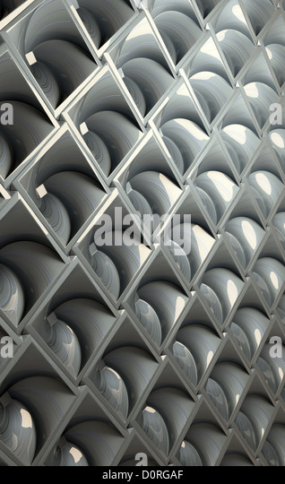 Metallische abstrakt Stockbild