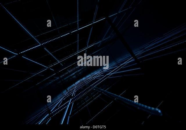 Abstrakt blau Stockbild