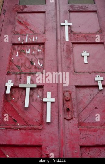 Unsere Liebe Frau von Vilnius römisch-katholische Kirche Stockbild