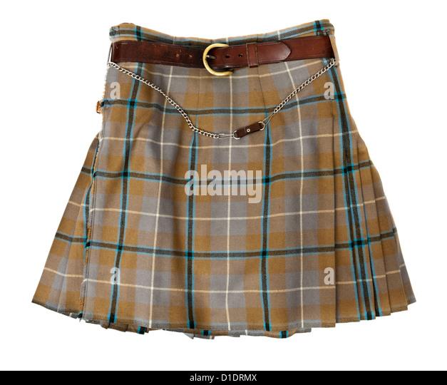 Traditionellen authentischen schottischen kilt Stockbild