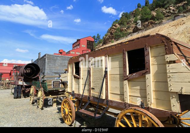 Argo-Goldmine und Mühlenmuseum, Idaho Springs, Colorado, Vereinigte Staaten von Amerika, Nordamerika Stockbild