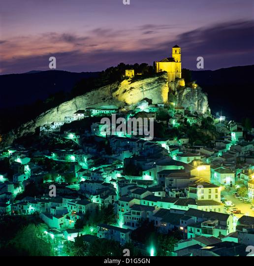 Montefrio, Andalusien, Spanien, Europa Stockbild
