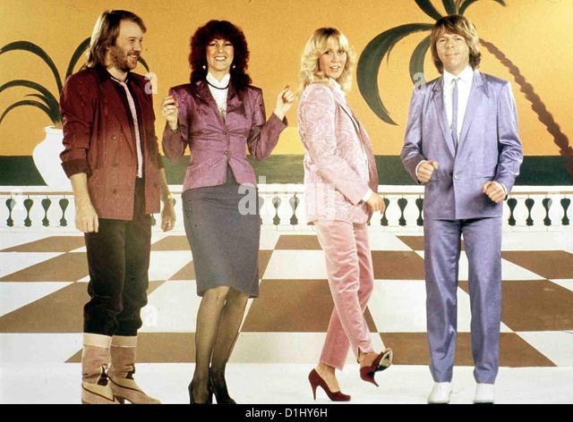 ABBA: Der Film Abba: der Film ABBA *** lokalen Caption *** 1977-- Stockbild