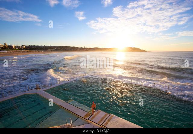 Bondi Icebergs, Sydney, New South Wales Australien Stockbild