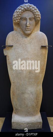 Phönizische Reich. Nördlichen Libanon. Sarkophag. Marmor. 480-450 V. CHR.. National Museum of Denmark. Stockbild