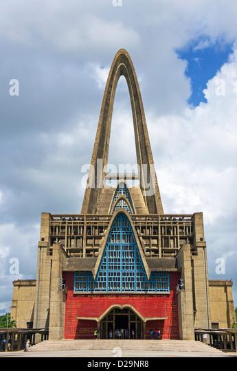 Kathedrale von Higuey, Higuey, Dominikanische Republik Stockbild