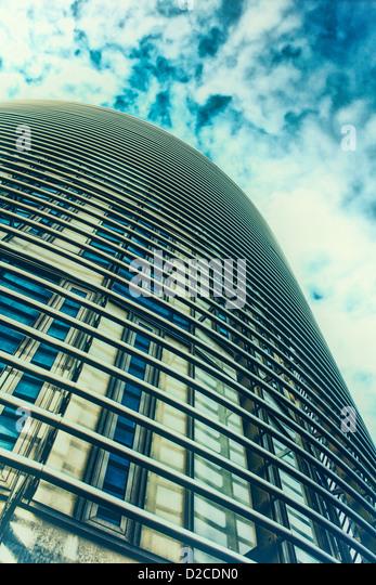 Moderne Architektur - Bad-Busbahnhof Stockbild