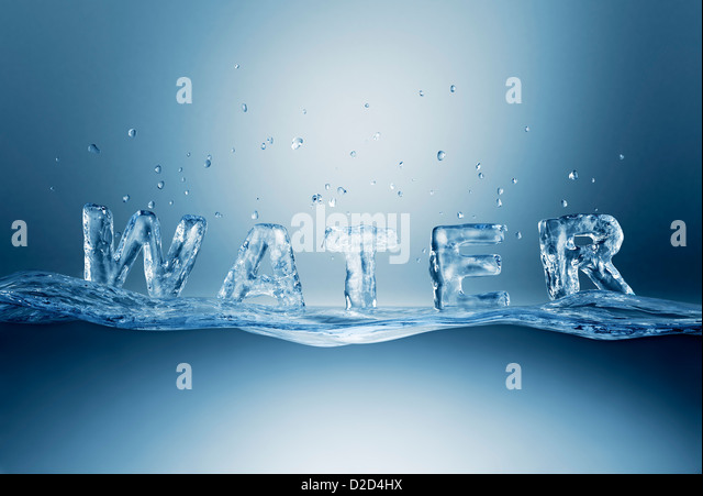 Wasser-Computer-Grafik Stockbild
