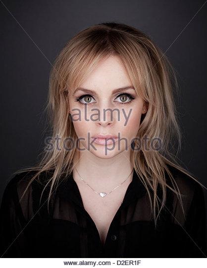 Lauren Crace, Studio-Porträt Stockbild