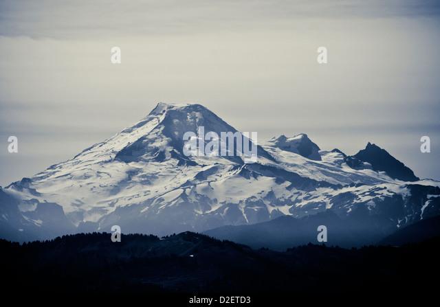 Mount McQuire klettern. Stockbild