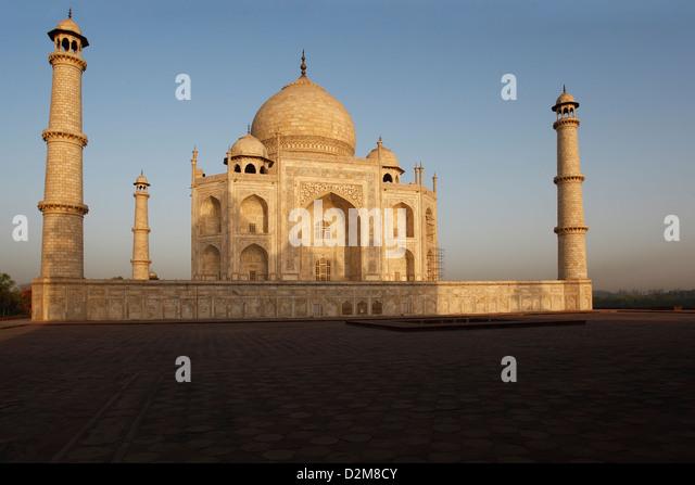 Das Taj Mahal, eines der sieben Weltwunder - Stock-Bilder