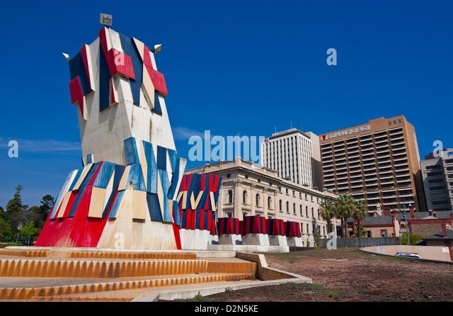 Adelaide Festival Centre, South Australia, Australien, Pazifik Stockbild