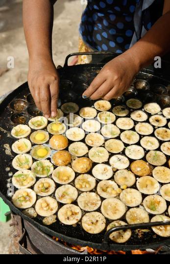 Burmesische Küche, Republik der Union von Myanmar (Burma), Asien Stockbild