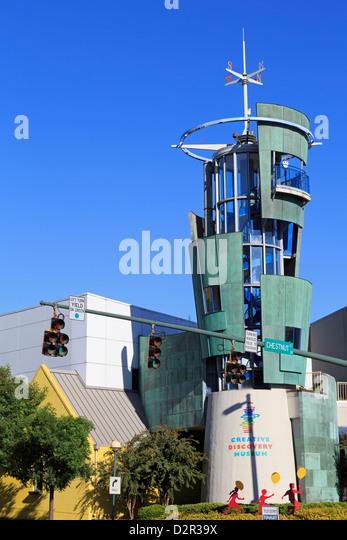 Creative Discovery Museum, Chattanooga, Tennessee, Vereinigte Staaten von Amerika, Nordamerika Stockbild